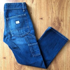 AG Cropped cargo carpenter jean size 27